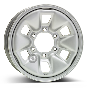 ALCAR STAHLRAD 8070 Silver