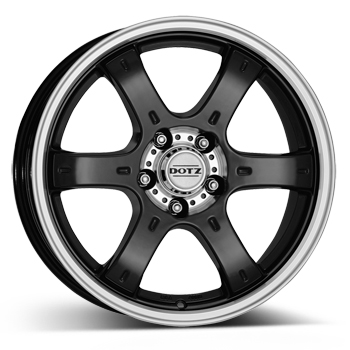 DOTZ 4x4 Crunch Black/polished