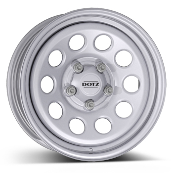 DOTZ 4X4 Modular Silver