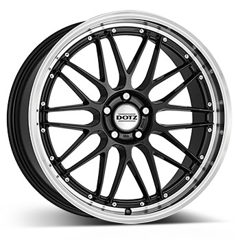 DOTZ Revvo dark Gunmetal/polished lip