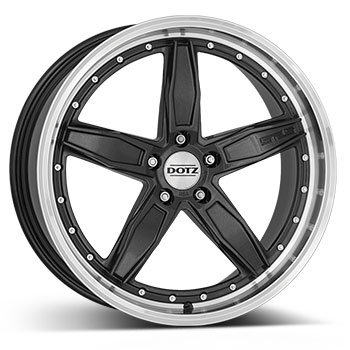 DOTZ SP5 dark Gunmetal/polished lip