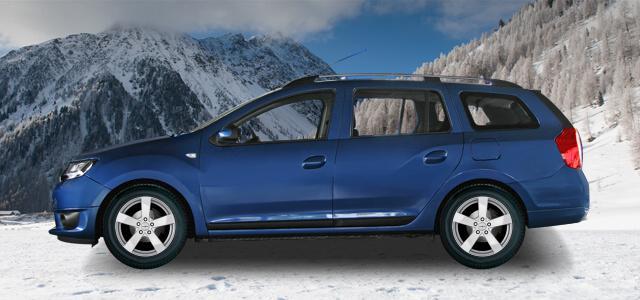Komplettrad Dacia mit Alufelgen