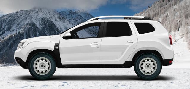 Stahlfelgen für Dacia Duster