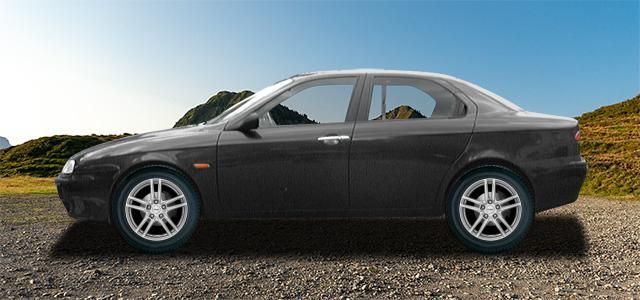 Letní pneumatiky pro osobní automobil  ALFA ROMEO 156   (932) rv.od 10.1997 2.5  V6 24V