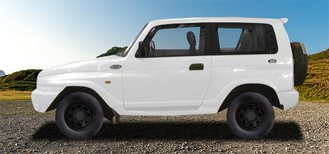 Letní pneumatiky pro osobní automobil  DAEWOO KORANDO   (KJ) rv.od 01.1999 2.0  16V