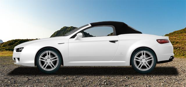 Letní pneumatiky pro osobní automobil  ALFA ROMEO SPIDER   (939) rv.od 09.2006 3.2  JTS