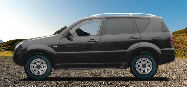 Letní pneumatiky pro osobní automobil  SSANGYONG REXTON   (REXTON-RJ) rv.od 04.2002 2.3  RX230 4x4