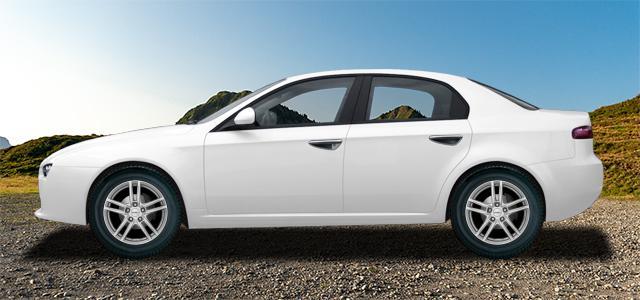 Letní pneumatiky pro osobní automobil  ALFA ROMEO 159   (939) rv.od 09.2005 1.8  MPI
