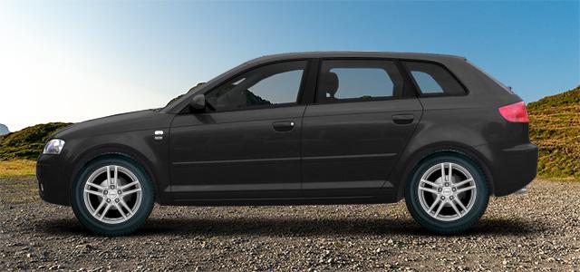 Letní pneumatiky pro osobní automobil  AUDI A3/S3/RS3; A3 Sportback   (8P;8PA;8PB) rv.od 05.2003 1.6  TDI
