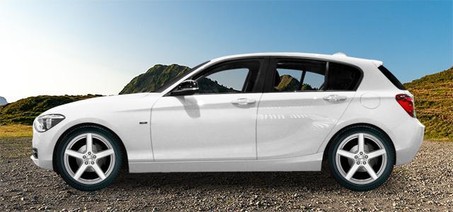 Letní pneumatiky pro osobní automobil  BMW 1   (F20/F21) (1K2;1K4) rv.od 09.2011 M  140 i