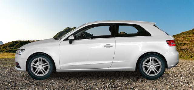 Letní pneumatiky pro osobní automobil  AUDI A3/S3   (8V) rv.od 09.2012 2.0  TFSI