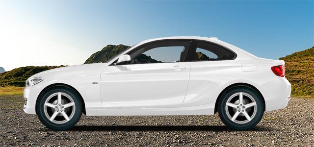 Letní pneumatiky pro osobní automobil  BMW 2 Coupe   (F22;F87) (1C;M3) rv.od 01.2014 220d