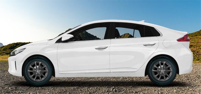 Hyundai Ioniq mit Dezent