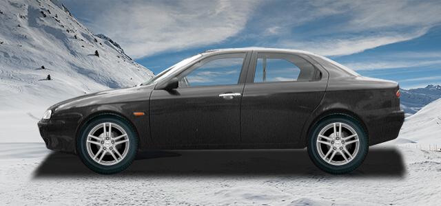 Pneumatiky, které najdete ve výpisu níže, jsou vhodné pro osobní automobil ALFA ROMEO 156   (932) rv.od 10.1997 1.9  JTD. Kvalitní pneu za bezvadné ceny.