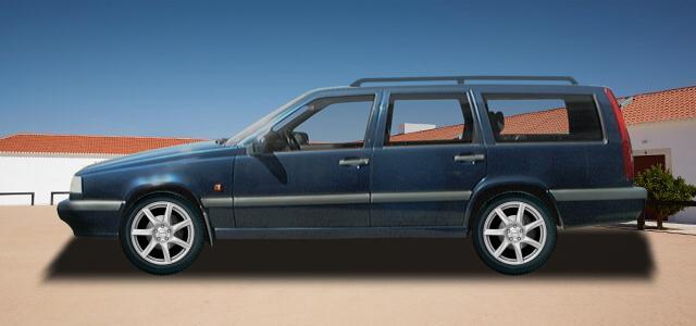 Pneumatiky pro osobní automobil  VOLVO 850 Kombi   (L;LW) rv.od 10.1993 2.0  Turbo