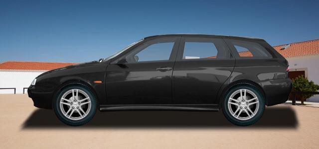Pneumatiky, které najdete ve výpisu níže, jsou vhodné pro osobní automobil ALFA ROMEO 156 Sportwagon   (932) rv.od 10.1997 1.6  16V T.SPARK. Kvalitní pneu za bezvadné ceny.