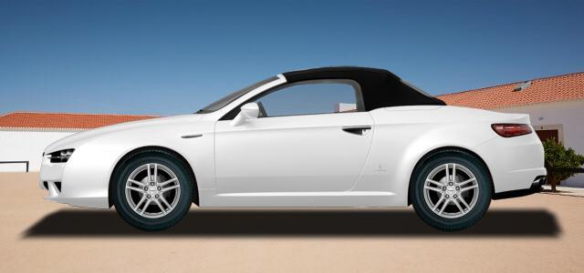 Pneumatiky, které najdete ve výpisu níže, jsou vhodné pro osobní automobil ALFA ROMEO SPIDER   (939) rv.od 09.2006 2.0  JTDM. Kvalitní pneu za bezvadné ceny.