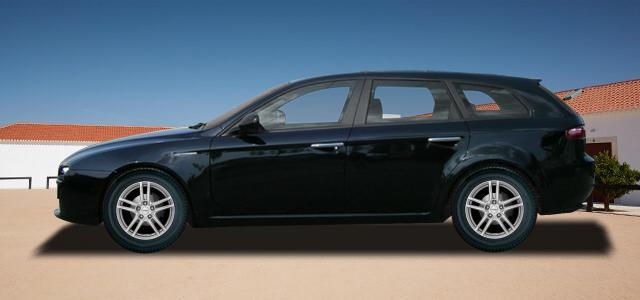 Pneumatiky, které najdete ve výpisu níže, jsou vhodné pro osobní automobil ALFA ROMEO 159 Sportwagon   (939) rv.od 09.2005 2.2  JTS. Kvalitní pneu za bezvadné ceny.