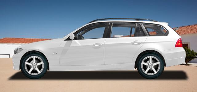 Pneumatiky, které najdete ve výpisu níže, jsou vhodné pro osobní automobil BMW 3 Touring   (E91) (390L;390X;3K;3K-N1) rv.od 09.2005 316  d. Kvalitní pneu za bezvadné ceny.