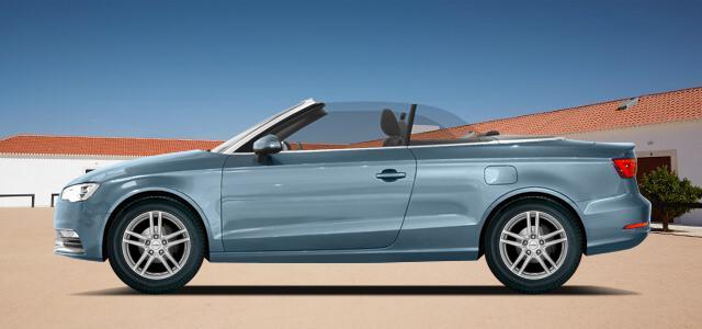 Pneumatiky, které najdete ve výpisu níže, jsou vhodné pro osobní automobil AUDI A3/S3 Cabrio   (8V) rv.od 02.2014 2.0d  quattro. Kvalitní pneu za bezvadné ceny.
