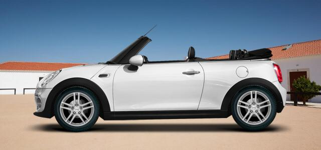 Pneumatiky pro osobní automobil  MINI MINI Cabrio   (UKL-L;FMCA) rv.od 12.2015 John  Cooper Works