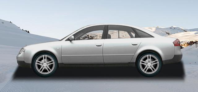 Zimní pneumatiky pro osobní automobil  AUDI A6/S6/RS6   (4B) rv.od 01.1997 2.7  T quattro