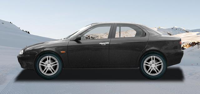 Zimní pneumatiky pro osobní automobil  ALFA ROMEO 156   (932) rv.od 10.1997 2.0  JTS