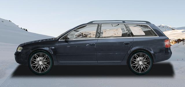 Zimní pneumatiky pro osobní automobil  AUDI A6/S6/RS6 Avant   (4B) rv.od 12.1997 RS6  plus quattro