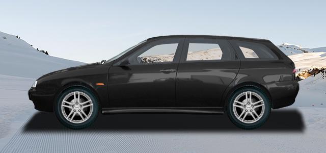 Zimní pneumatiky pro osobní automobil  ALFA ROMEO 156 Sportwagon   (932) rv.od 10.1997 2.0