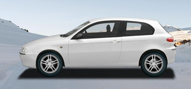 Zimní pneumatiky pro osobní automobil  ALFA ROMEO 147   (937) rv.od 01.2001 1.9  JTDM 8V