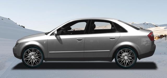 Zimní pneumatiky pro osobní automobil  AUDI A4/S4/RS4   (8E;QB6) rv.od 11.2000 RS4  quattro