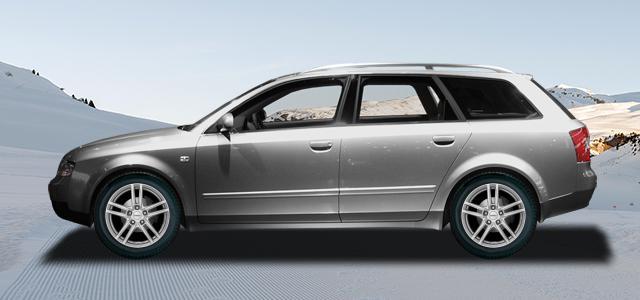 Zimní pneumatiky pro osobní automobil  AUDI A4/S4/RS4 Avant   (8E;QB6) rv.od 04.2001 S4  quattro