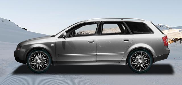 Zimní pneumatiky pro osobní automobil  AUDI A4/S4/RS4 Avant   (8E;QB6) rv.od 04.2001 RS4