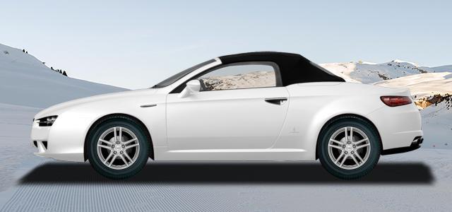 Zimní pneumatiky pro osobní automobil  ALFA ROMEO SPIDER   (939) rv.od 09.2006 1.8  TBi