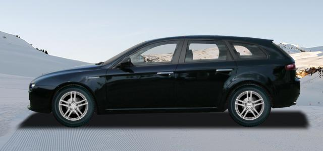 Zimní pneumatiky pro osobní automobil  ALFA ROMEO 159 Sportwagon   (939) rv.od 09.2005 1.8  MPI