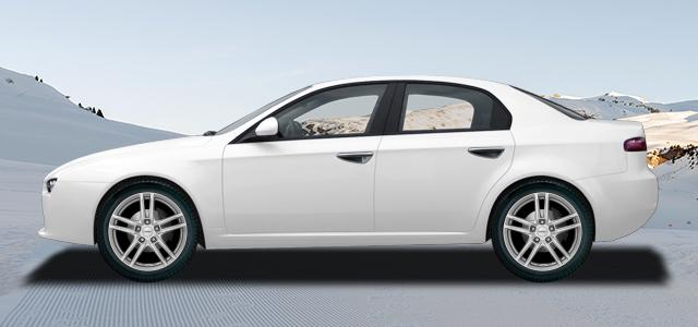 Zimní pneumatiky pro osobní automobil  ALFA ROMEO 159   (939) rv.od 09.2005 1.8  TBi