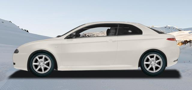 Zimní pneumatiky pro osobní automobil  ALFA ROMEO GT   (937) rv.od 11.2003 2.0  JTS