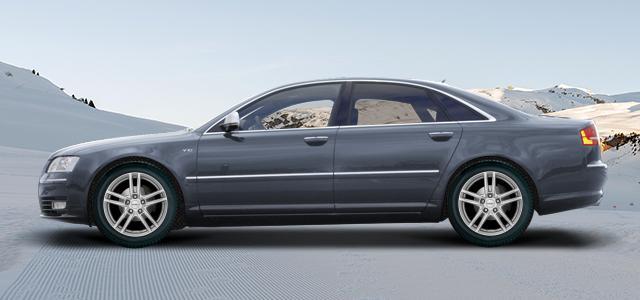 Zimní pneumatiky pro osobní automobil  AUDI A8/S8   (4E) rv.od 10.2002 4.2  TDI quattro