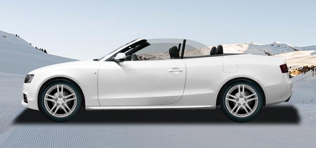 Zimní pneumatiky pro osobní automobil  AUDI A5/S5/RS5 Cabrio   (B8) rv.od 03.2009 3.2  FSI quattro
