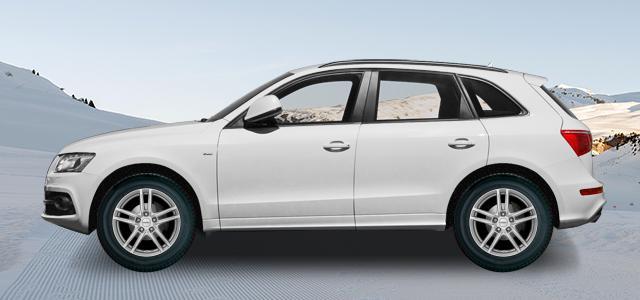 Zimní pneumatiky pro osobní automobil  AUDI Q5   (8R;8R1;8R2) rv.od 11.2008 3.0d  quattro