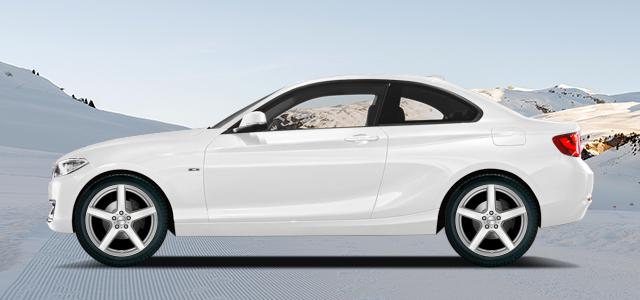 Zimní pneumatiky pro osobní automobil  BMW 2 Coupe   (F22;F87) (1C;M3) rv.od 01.2014 M  240i