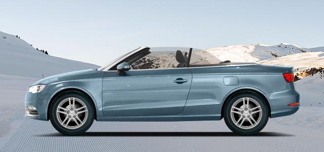 Zimní pneumatiky pro osobní automobil  AUDI A3/S3 Cabrio   (8V) rv.od 02.2014 2.0  TFSI