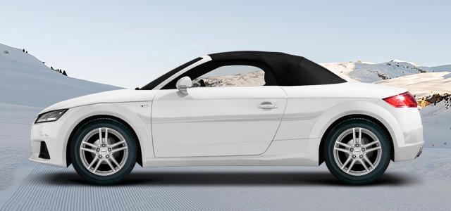 Zimní pneumatiky pro osobní automobil  AUDI TT Roadster   (8J;8J1) rv.od 02.2015 45  TFSI quattro
