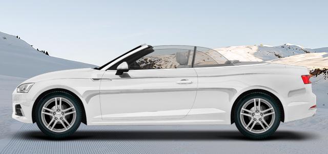 Zimní pneumatiky pro osobní automobil  AUDI A5/S5 Cabrio   (B8) rv.od 02.2017 2.0  TDI quattro